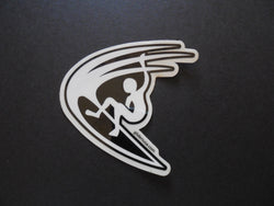 Cutback Surfer Surfing Decal