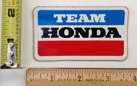 TEAM HONDA VINTAGE MOTOCROSS RACING STICKER