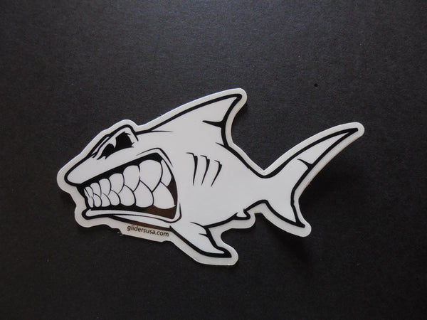 Shark Left Facing Sticker Decal