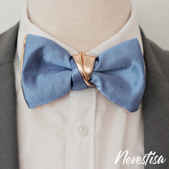 Mens satin formal bow tie gift set of 3 bowties