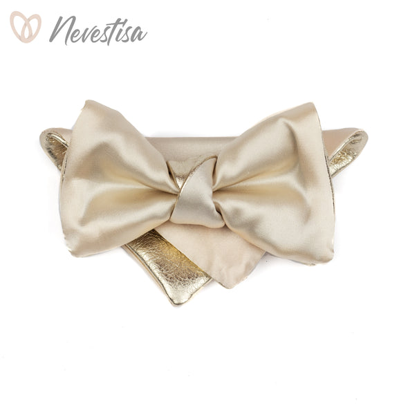 Satin ivory champagne mens formal set, bow tie for men,cream champagne gold wedding bow tie, prettied bowtie bow tie,ivory bow tie, boys nevestisa nevstica