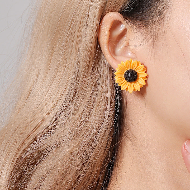 Sunflower necklace 50% OFF