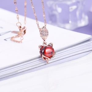 Cute animal-themed necklace