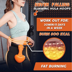 Never Falling Slimming Hula Hoops