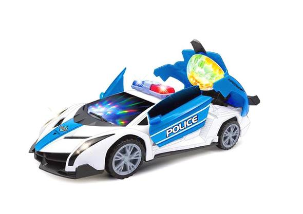 Automatic electric toy car