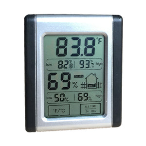 Humidity Gauge & Thermometer