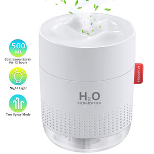 Portable Mini Humidifier USB 40% OFF