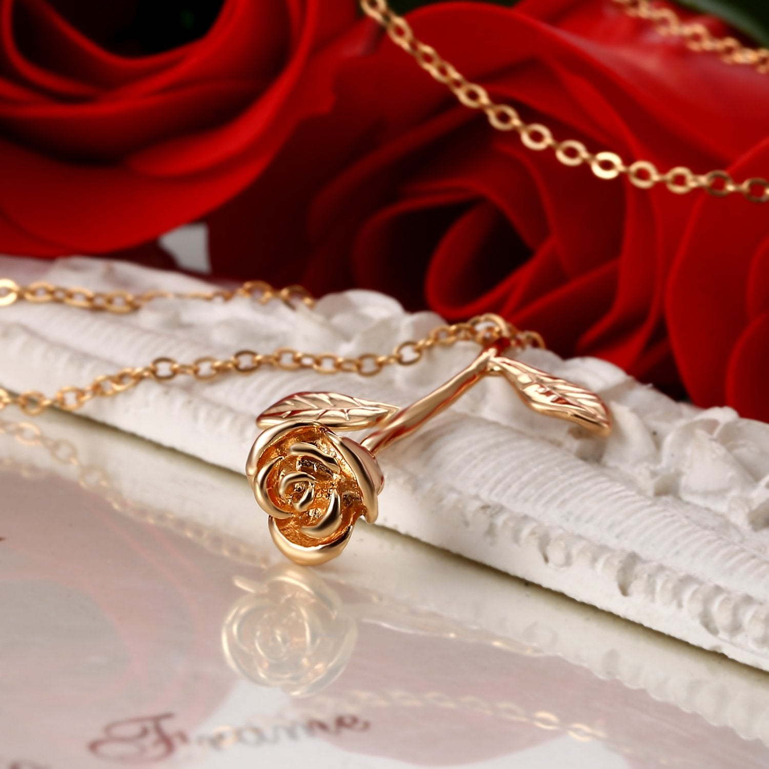 ETERNAL ROSE NECKLACE
