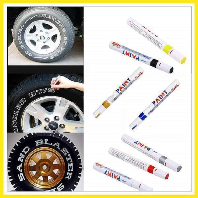 50% OFF-Waterproof, Non-Fading Tire Paint Pen