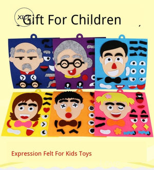 Facial Expressions Toy For kids' Education