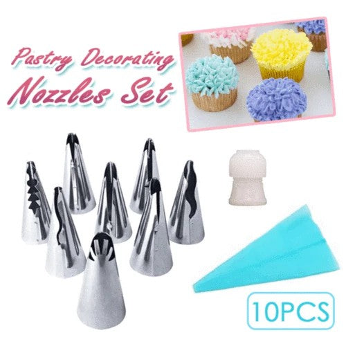 50% OFF Today!!Artistic Pastry Nozzles Set