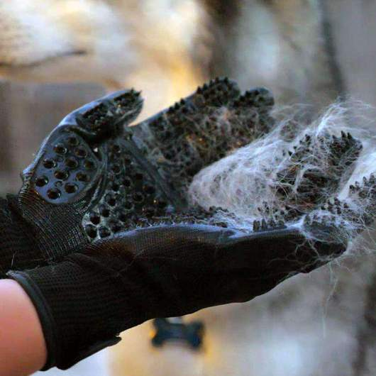 Anti Knots Pet Grooming Gloves