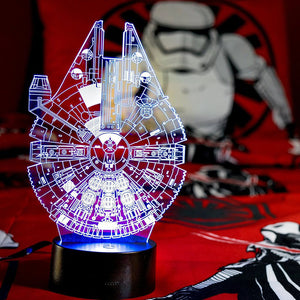 3D Illusion Star Wars Night Light