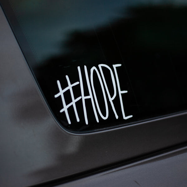#Hope Vinyl Logo Sticker