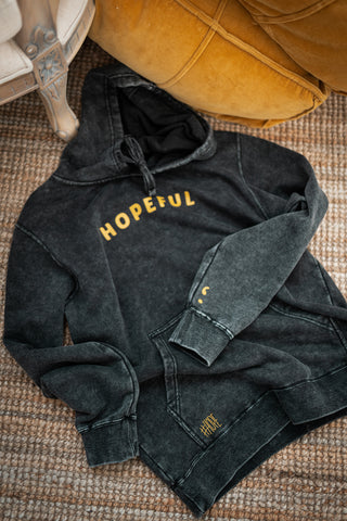 Hopeful Mineral Wash Hoodie *Limited Edition*