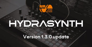 Ashun Sound Machines HYDRASYNTH Keyboard/Desktop Version 1.3.0 update