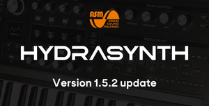 Ashun Sound Machines HYDRASYNTH Keyboard/Desktop Version 1.5.2 update