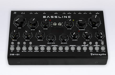 Erica Synths Bassline DB-01 - Elektron Distribution Group