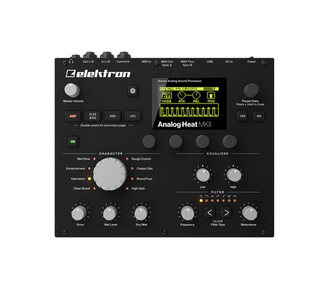 Elektron Analog Heat MK II - Elektron Distribution Group