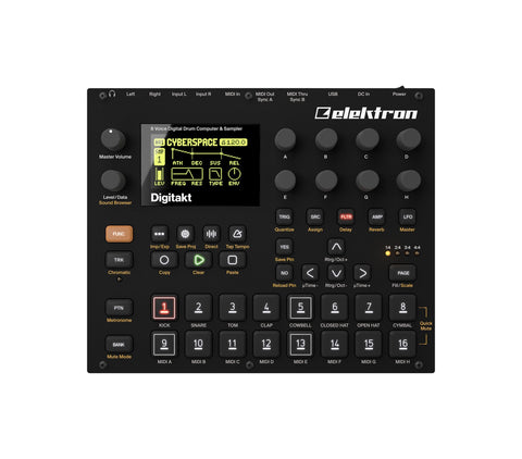 Elektron Digitakt - Elektron Distribution Group