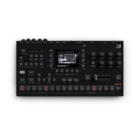 Elektron Octatrack DPS-1 MK II (Black) - Elektron Distribution Group