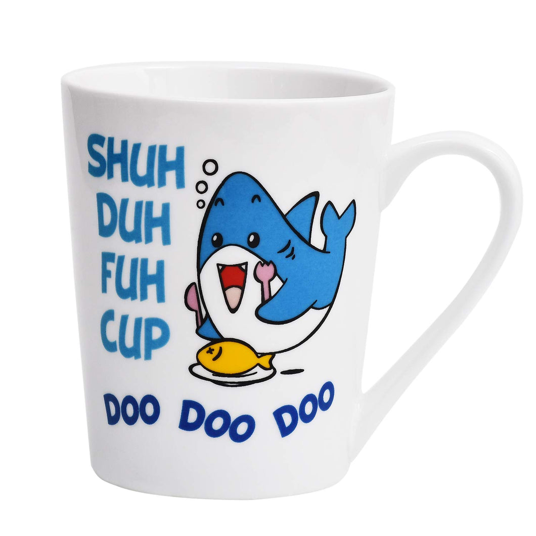 Coffee Mug Cute Shark Fish