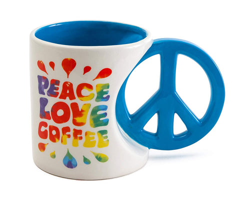 Peace & Love Coffee Mug