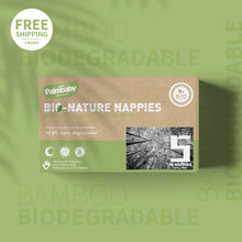 Load image into Gallery viewer, Palmbaby Bio-Nature Nappies,Size 5(12-17kg),96 Count