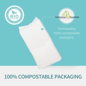 Disposable Baby Nappies Eco Friendly Size 4 Organic Bamboo Baby Nappies 9-14kg 34 Pack-Palmbaby