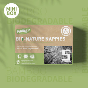 Palmbaby Bio-Nature Nappies,Size 5(12-17kg),32 Count