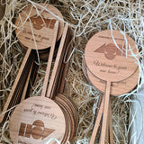 Personalised Plant Stick in box