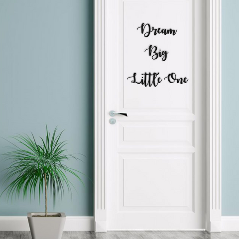 Personalised Nursery Quotes Wall Signs