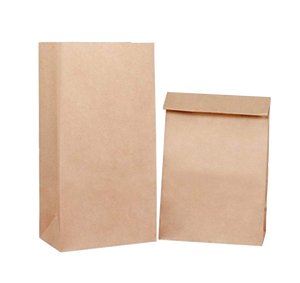 Kraft paper bag for individual packaging