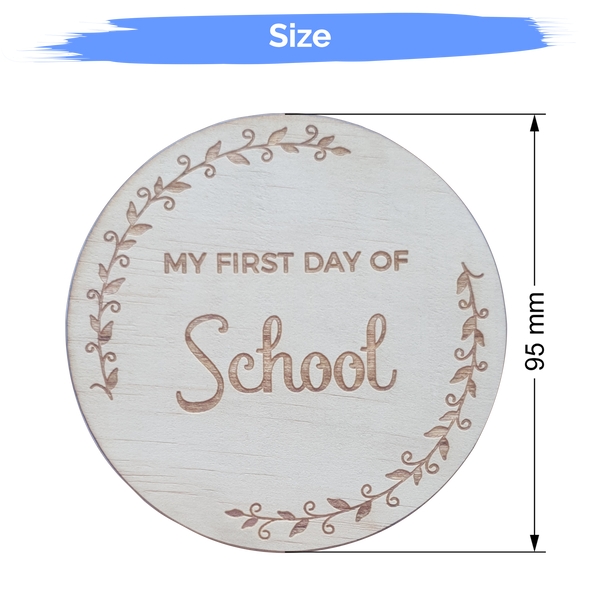 School Milestone Cards | Plywood