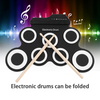 (FREE SHIPPING)-Foldable Electronic Drum
