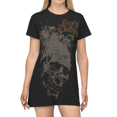 ROT.WITH.ME T-Shirt Dress - Burial Clothing