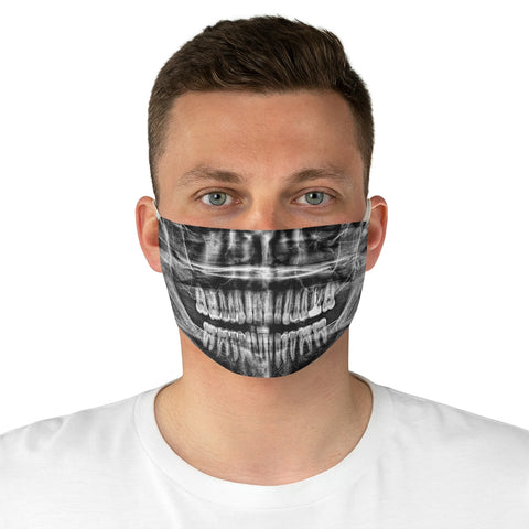 Teeth XRay Face Mask - Burial Clothing