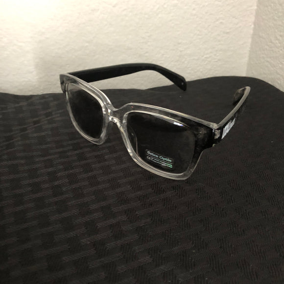Black/Clear Crystal Shades