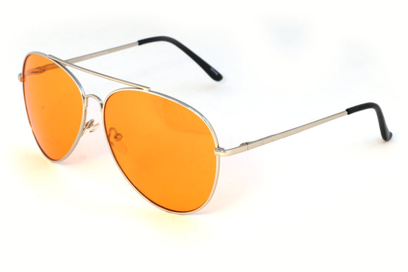 Orange Aviator