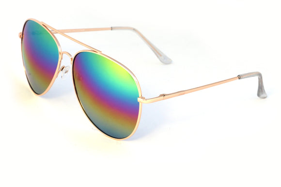 Gold Rainbow Aviator