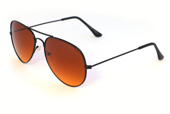 Black Amber Aviator