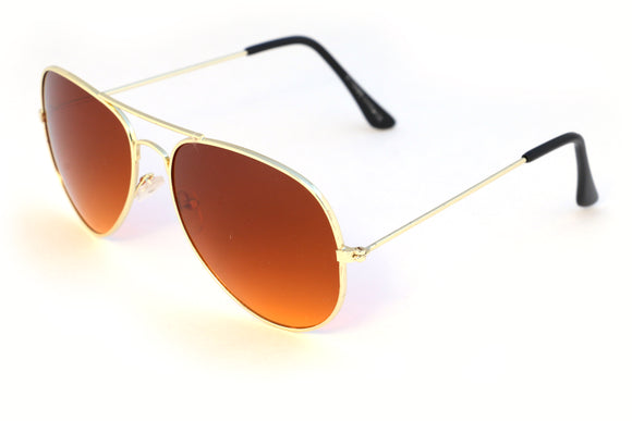 Gold Amber Aviator