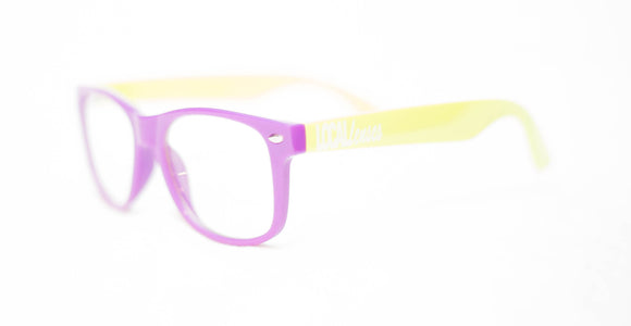 Kids Purple/Neon Clear Classics