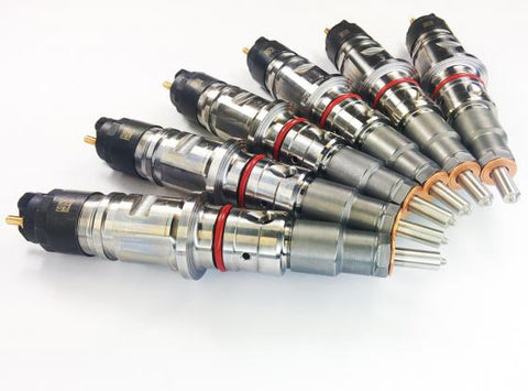 DDP REMANUFACTURED 50HP INJECTOR SET 15% OVER (2007.5-2012 CUMMINS)