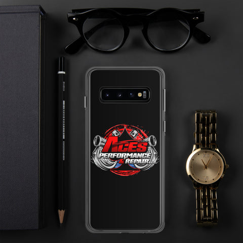 ACES SPADE SAMSUNG CASE RED