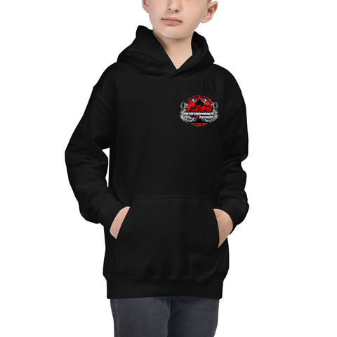 ACES TURBO YOUTH HOODIE RED