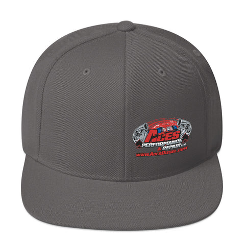 ACES TURBO SNAPBACK BACK RED