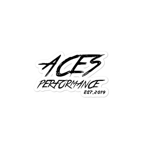 OG ACES STICKER BLACK