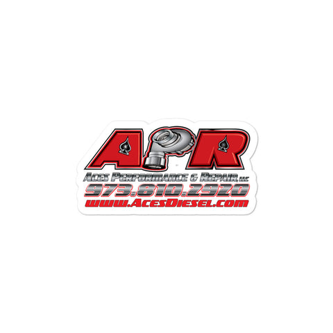 NEW APR LOGO STICKER