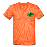 ACES TURBO TIE-DYE T-SHIRT - spider orange